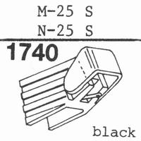 ORTOFON N-5 P, DUAL DN-245 Stylus, diamond, stereo-COPY