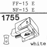 ORTOFON NF-15 E, N-15 E Stylus, ORIGINAL