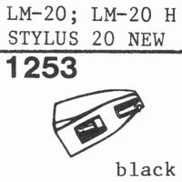 ORTOFON STYLUS 20 Stylus, ORIGINAL<br />Price per piece