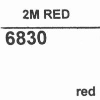 ORTOFON STYLUS 2M RED Stylus<br />Price per piece