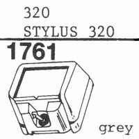 ORTOFON STYLUS 320 Stylus, ORIGINAL<br />Price per piece