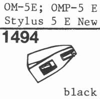 ORTOFON STYLUS 5 E Stylus, ORIGINAL<br />Price per piece