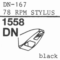 ORTOFON STYLUS 78; DUAL DN-167 Stylus, ORIGINAL<br />Price per piece