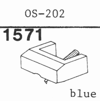 OSAWA N-202 FOR OS-202 BLUE Stylus, diamond, elliptical, ori