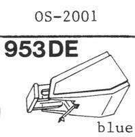 OSAWA OS-2001 Stylus, diamond, elliptical
