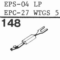 PANASONIC SAPHIRE EPS-04ST stylus, sapphire, stereo, origina