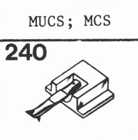 PATHE MARCONI MUCS; MCS Stylus, DS