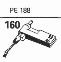 PERPETUUM EBNER PE-188 Stylus, sapphire normal (78rpm) + sap