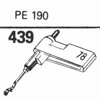 PERPETUUM EBNER PE-190 Stylus, sapphire stereo + diamond ste