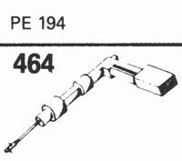 PERPETUUM EBNER PE-194 Stylus, sapphire stereo + diamond ste