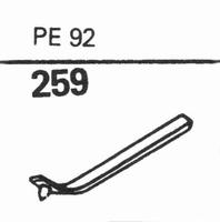 PERPETUUM EBNER PE-92 Stylus, diamond, stereo