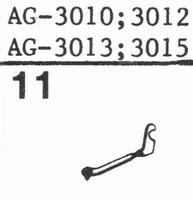PHILIPS AG-3010; 3012; 3013 Stylus, SN