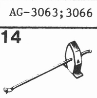 PHILIPS AG-3063 78 RPM Stylus, SN<br />Price per piece