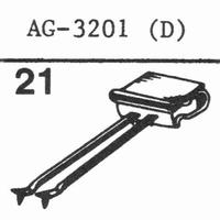 PHILIPS AG-3201 (D) Stylus, sapphire stereo + diamond stereo