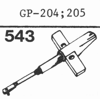 PHILIPS GP-204, GP-205 Stylus, Diamond, normal (78rpm)