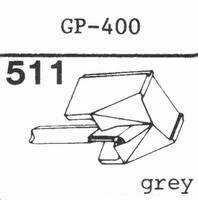 PHILIPS GP-400 (78 R.P.M.!!) Stylus, DN