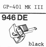 PHILIPS GP-401 MK III Stylus, DE