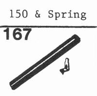 PICKERING 150 + SPRING 78 RPM Stylus, DN