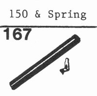 PICKERING 150 + SPRING 78 RPM Stylus, Diamond, normal (78rpm