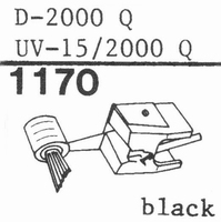 PICKERING D-2000 Q IM SHIBATA Stylus, COPY<br />Price per piece
