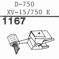 PICKERING D-750 Stylus, diamond, elliptical-COPY