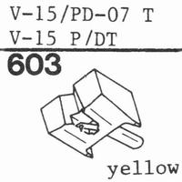PICKERING PD-07 T Stylus, diamond, stereo