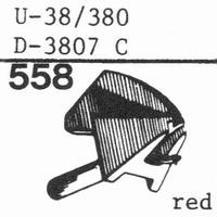 PICKERING U-38/380 D-3807 C Stylus, diamond, stereo