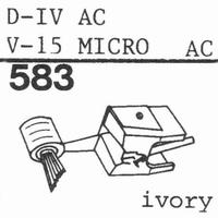 PICKERING V-15 PHASE IV Stylus, diamond, stereo