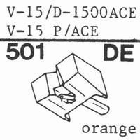 PICKERING V-15/D-1507 AC Stylus, diamond, elliptical