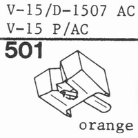 PICKERING V-15/D-1507 AC Stylus, diamond, stereo