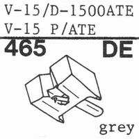 PICKERING V-15/D-1507 AT Stylus, diamond, elliptical