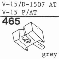 PICKERING V-15/D-1507 AT Stylus, Diamond, normal (78rpm)
