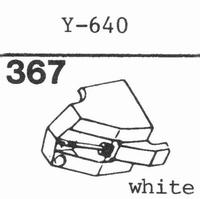 PIEZO Y-640, ONKYO DN-8 ST Stylus, diamond, stereo