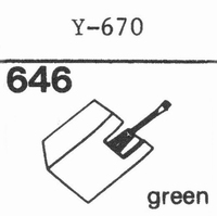 PIEZO Y-670 Stylus, DS