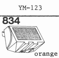 PIEZO YM-123 Stylus, diamond, stereo
