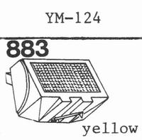 PIEZO YM-124 Stylus, diamond, stereo