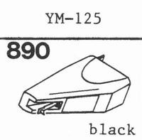 PIEZO YM-125 Stylus, diamond, stereo, original