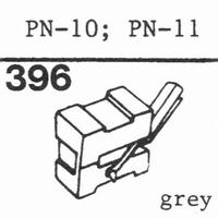 PIONEER PN-10, PN-11 Stylus, diamond, stereo