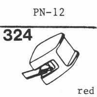 PIONEER PN-12, PN-110 Stylus, diamond, stereo