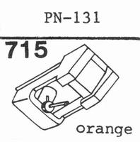 PIONEER PN-131 Stylus, diamond, stereo
