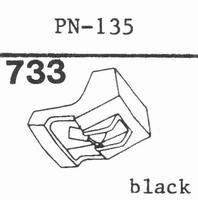 PIONEER PN-135 Stylus, diamond, stereo