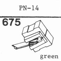 PIONEER PN-14 Stylus, diamond, stereo