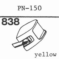 PIONEER PN-150 Stylus, diamond, stereo