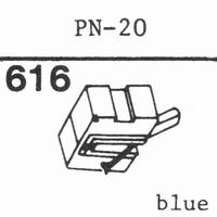PIONEER PN-20 Stylus, diamond, stereo
