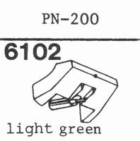 PIONEER PN-200 Stylus, diamond, stereo