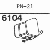 PIONEER PN-21 Stylus, diamond, stereo