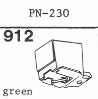 PIONEER PN-230 Stylus, diamond, stereo
