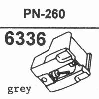 PIONEER PN-260 Stylus, diamond, stereo