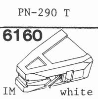PIONEER PN-290 T Stylus, diamond, stereo
