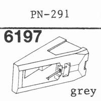 PIONEER PN-291 GREY Stylus, diamond, stereo
